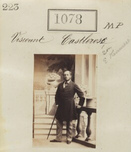 Valentine Augustus Browne, 4th Earl of Kenmare, by Camille Silvy, 1860 - NPG Ax50586 - © National Portrait Gallery, London