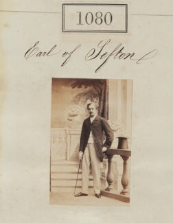 William Philip Molyneux, 4th Earl of Sefton, by Camille Silvy - NPG Ax50588