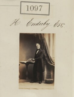 Henry Enderby, by Camille Silvy, 1860 - NPG Ax50594 - © National Portrait Gallery, London