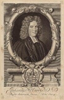 John Harris, by George Vertue, after  Robert White - NPG D31488