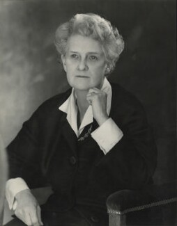 Evelyn Adelaide Sharp, Baroness Sharp, by Madame Yevonde - NPG x26347