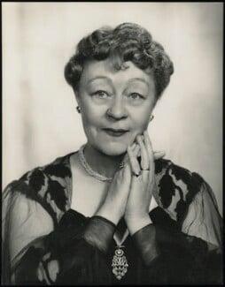 Athene Seyler, by Madame Yevonde - NPG x26345