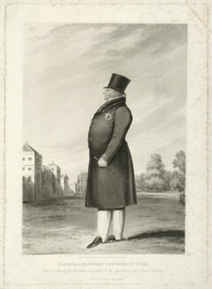 Frederick, Duke of York and Albany, by Edward Scriven, published by and after  George Atkinson - NPG D33226
