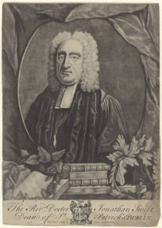 Jonathan Swift, by Andrew Miller, after  Francis Bindon, 1743-1744 - NPG D31512 - © National Portrait Gallery, London