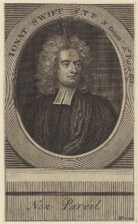 Jonathan Swift, by George Vertue, after  Charles Jervas - NPG D31514