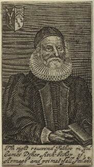 James Ussher, after Unknown artist - NPG D33203