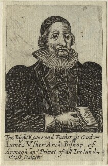 James Ussher, by Thomas Cross, after  Unknown artist - NPG D33206