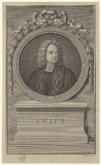 Jonathan Swift, by William Walker, after  Charles Jervas - NPG D31517