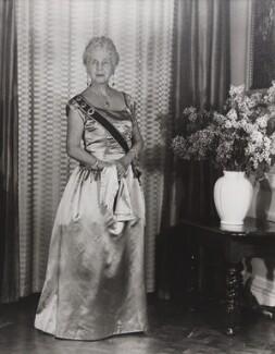 Princess Alice, Countess of Athlone, by Madame Yevonde, 1963 - NPG x11629 - © Yevonde Portrait Archive