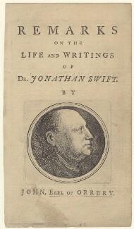 Jonathan Swift, after Unknown artist - NPG D31520