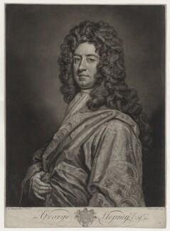 George Stepney, by John Faber Jr, after  Sir Godfrey Kneller, Bt - NPG D31522