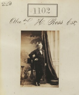 Alexander Henry Ross, by Camille Silvy - NPG Ax50598