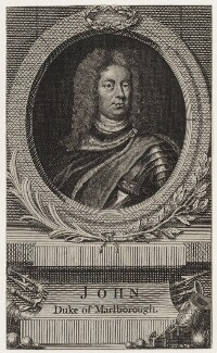 John Churchill, 1st Duke of Marlborough, after Sir Godfrey Kneller, Bt - NPG D31534