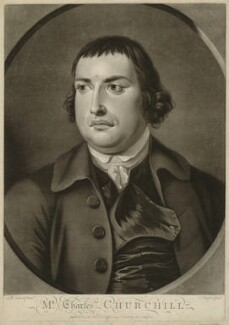 Charles Churchill, by Thomas Burford, after  J.S.C. Schaak - NPG D33251