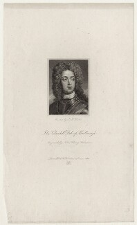 John Churchill, 1st Duke of Marlborough, by and published by John Henry Robinson, after  Sir Godfrey Kneller, Bt - NPG D31538