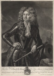 Sir Cloudesley Shovell, by and sold by John Faber Jr, after  Michael Dahl - NPG D31548