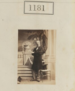 George William Frederick Brudenell-Bruce, 2nd Marquess of Ailesbury, by Camille Silvy - NPG Ax50638