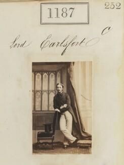 John Henry Reginald Scott, 4th Earl of Clonmell, by Camille Silvy - NPG Ax50639