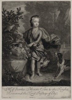 Charles Moore, by Peter Coombes, after  Johann Kerseboom, published by  Edward Cooper - NPG D31551