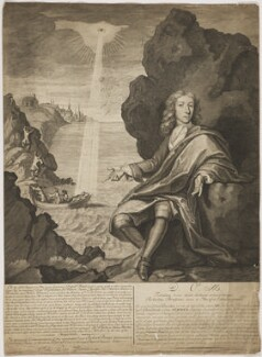 David Bruce, by George Vertue, after  Pierre Berchet - NPG D31556