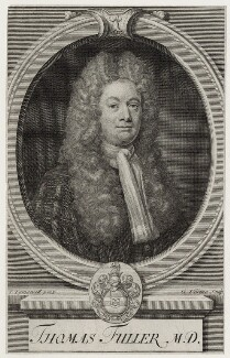 Thomas Fuller, by George Vertue, after  Joseph Tymewell - NPG D31557