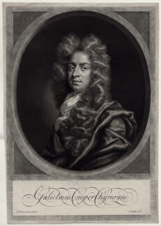 William Cowper (Cooper), by John Smith, after  John Closterman, 1698 - NPG D31560 - © National Portrait Gallery, London
