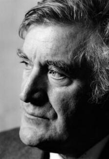 Ted Hughes, by Niall McDiarmid, 1994 - NPG x87333 - © Niall McDiarmid