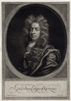 William Cowper (Cooper), by John Smith, after  John Closterman, 1698 - NPG D31561 - © National Portrait Gallery, London
