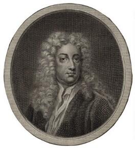 Joseph Addison, after Sir Godfrey Kneller, Bt - NPG D27305