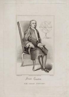Sir Isaac Newton, by John Romney, after  John Vanderbank - NPG D27327