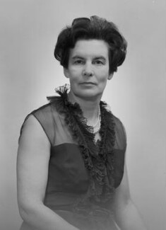 Barbara Mary Louise (née Cottrell), Lady Gorell Barnes, by Bassano & Vandyk Studios - NPG x174493