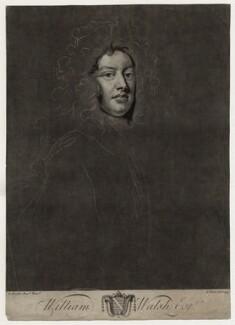 William Walsh, by John Faber Jr, after  Sir Godfrey Kneller, Bt - NPG D27334