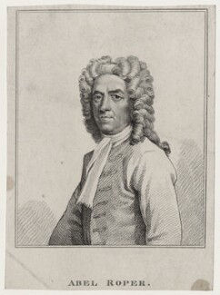 Abel Roper, after Hans Hysing - NPG D27335