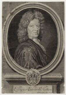 Edward Hatton, by Robert White - NPG D27337