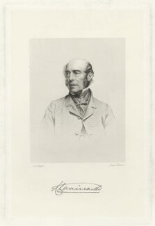 Ulick de Burgh, 1st Marquess of Clanricarde, by Joseph Brown, after  John Jabez Edwin Mayall - NPG D33262