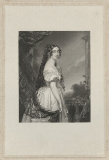 Harriet (née Canning), Marchioness of Clanricarde, by T.W. Knight, after  John Lucas - NPG D33263