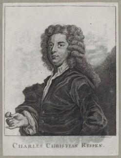 Charles Christian Reisen, by James Bretherton, after  John Vanderbank - NPG D27352