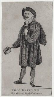 Thomas Britton, after Unknown artist - NPG D27354