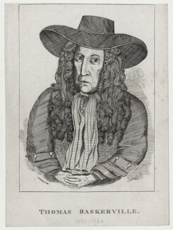 Thomas Baskerville, by George Cruikshank, after  Unknown artist - NPG D27361