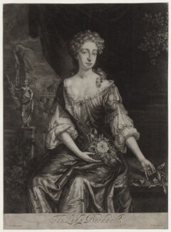 Lady Bucknell, after Sir Godfrey Kneller, Bt, published by  G. Beckett - NPG D27365