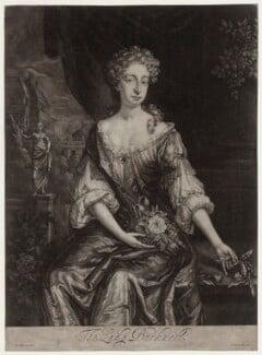 Lady Bucknell, after Sir Godfrey Kneller, Bt, published by  G. Beckett - NPG D27365