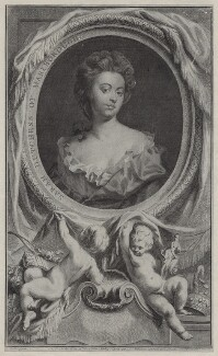 Sarah Churchill (née Jenyns (Jennings)), Duchess of Marlborough, by Jacobus Houbraken, published by  John & Paul Knapton, after  Sir Godfrey Kneller, Bt, 1745 - NPG D27367 - © National Portrait Gallery, London