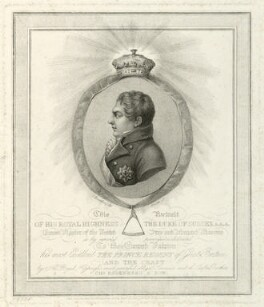 Prince Augustus Frederick, Duke of Sussex, by Andrea Freschi, published by  Colnaghi & Co, after  Charles or Carl or Christian Rosenberg, published 1813 - NPG D33236 - © National Portrait Gallery, London