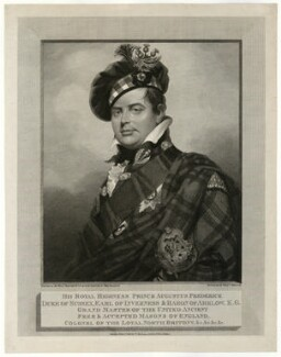 Prince Augustus Frederick, Duke of Sussex, by and published by William Skelton, after  Sir William Beechey - NPG D33238