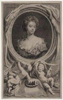 Sarah Churchill (née Jenyns (Jennings)), Duchess of Marlborough, by Jacobus Houbraken, published by  John & Paul Knapton, after  Sir Godfrey Kneller, Bt - NPG D27374