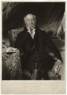 Sir Charles Mansfield Clarke, 1st Bt, by Thomas Hodgetts, after  Samuel Lane - NPG D33278