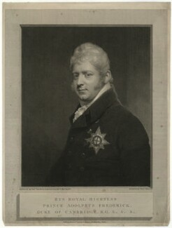 Prince Adolphus Frederick, Duke of Cambridge, by and published by William Skelton, after  Sir William Beechey - NPG D33282