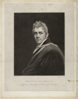 Edward Daniel Clarke, by Edward Scriven, after  John Opie - NPG D33286