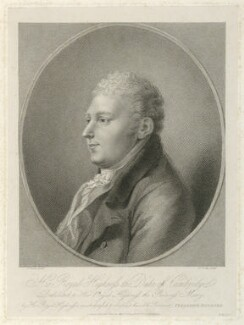 Prince Adolphus Frederick, Duke of Cambridge, by James Godby, published by  Colnaghi & Co, after  Friedrich Rehberg - NPG D33285