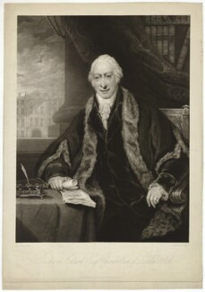 Richard Clark, by Charles Turner, after  Maria, Lady Bell (née Hamilton) - NPG D33290
